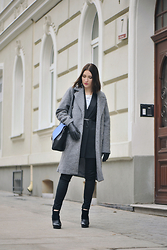 Shiny Syl -  - Grey coat outfit