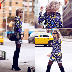 Jana Wind - Asos Dress, Joop Bag, Zara Boots - New york new york