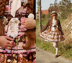 Candy Hashi - Angelic Pretty Little Bear Cafe - Country October