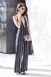Joselin R - Stella Mccartney Sunglasses, Faithfull The Brand Jumpsuit - NOW AND FOREVER