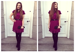 Helen D* - Style London Pink Dress - * Pink is the new Black *