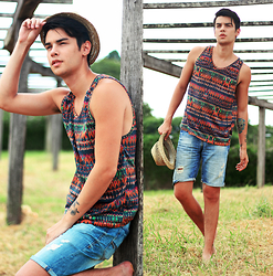 Vini Uehara - Haas Young Wear Tank Top - Haas Young Wear
