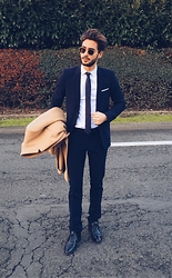 Raphaël Spezzotto-Simacourbe - The Kooples Suit - Classy suit day