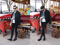 Daniel Diaz - New Look Chelsea Boots, H&M Knitwear, Asos Jacket, Toyshades Sunglasses, Topshop Jeans - Colouring the grey days