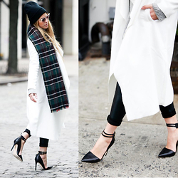 Drifting Nomad - Fendi Sunglasses, Guess? Heels, Guess? Pants, Never Fully Dressed Coat - These Streets