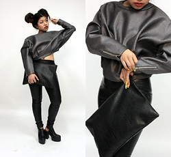 Karishma Rai -  - SWEATSHIRT & LEATHER