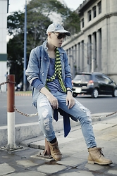 Nghia's Profile - Wax Jeans, Liebeskind, Asx, Christian Dior Sunglasses - Cross-over