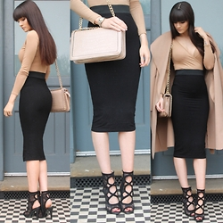 Victoria Rose -  - Nude Bodycon