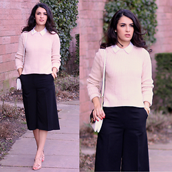 Vania - New Look Culottes, Zara Shoes - Culottes my friend