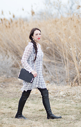 Kelsey Bang -  - Windowpane Tunic