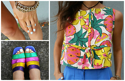 Aley Greenblo - Vintage - Tropical