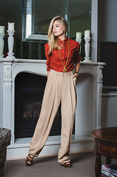 Jess Dempsey - Christian Dior Shirt, Céline Trousers, Mui Shoes, Chanel Necklace, Thomas Sabo Watch - Imperfect Perfection