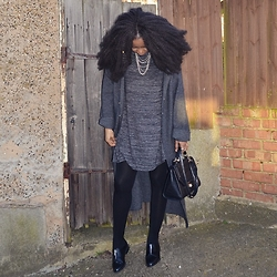 Abi Ogun - M&S Coat - Simple