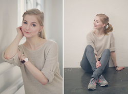 Joana ♡ - S.Oliver Sweater, Daniel Wellington Watch, S.Oliver Bracelet, S.Oliver Jeans, Adidas Sneaker - Believe in yourself.