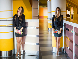Julia Vorik - H&M Blouse, H&M Skirt, Asos Bag, Sheinside Shoes - Feel free-feel like a girl