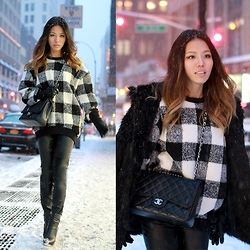 Leah Ho - Chanel Bag - Snowy NYC