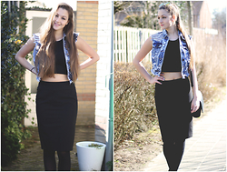 Justine -  - Pencil skirts and croptops