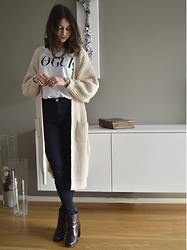 Lore Mosselmans -  - Long cardigan
