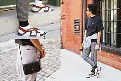 TYLER - Prada Sandals, Chanel Bag, Nike Shirt, Nike Sweatshirt - 205