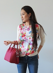 Kimberly Kong - Shabby Apple Top, Givenchy Bag, Bongo Jeans, Hanuel Earrings - This is the Industry
