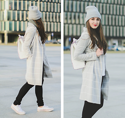 Maddy C - New Look Coat - Beanie love