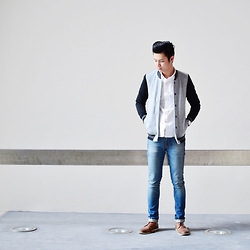 Jon Tan - H&M Baseball Jacket - Clean Strike