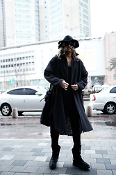 INWON LEE - Byther Outwear, Rick Owens Boots - RetroStyle