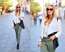 Nery Hdez - Zerouv Sunglasses, Elitefashion99 Vest, Bisuteria La Ola Ring, Primark Jeans - Fashion Poison