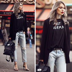 Masha Sedgwick - Levi's® Jeans, Mulberry Bag, Proenza Schouler Shoes - Anything, but normal