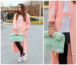 Jessica Sheppard -  - PASTEL DUSTER AND FUR.