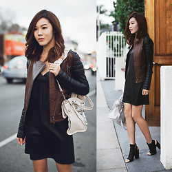 Jenny Tsang - Leather Jacket, Dress, Boots - Leather Report