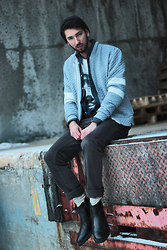 Bobby Raffin - Dead Legacy Quilted Jacket, Carlo Paolini Leather Boots - Quilted + Layers