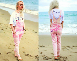 Jenny Burgartz - Wildfox Jumpsuit - The barbie jumpsuit