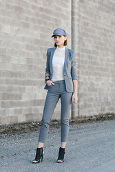 Ania B - Rw&Co. Cap, Rw&Co. Blazer, Rw&Co. Trousers, Rw&Co. Top, Rw&Co. Accessories - Suit up
