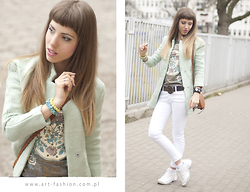 Matti Su - Nostydress - Mint coat