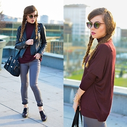 Andreea Chirila - Zara Jacket, Guess? Bag - Sun, sun, sun, here it comes