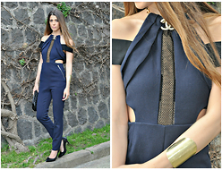 Fabrizia Spinelli - Www.Cosamimetto.Net - Cut Out Jumpsuit