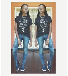 Kii Fundafunda - Primark Jeans, Bata Trainers, Tshirt - * If You're Reading This.. *