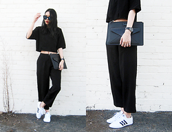 Visa Lom - Zerouv Trendy Womens Round Cat Eye Revo Lens Matte Black Sunglasses 9584, Paul's Boutique London Ltd. Lilly Cross Body Bag   Black Snake, Adidas Originals Womens Adria Ps 3s Trainers - BLVCK