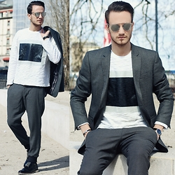 I N F A S H I O N I T Y a style story - Christian Dior So Real - SWEATSHIRT IS THE NEW SHIRT