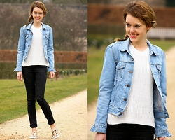 The Fashion Moodboard - Levi's® Denim Jacket - Vintage levi's denim jacket