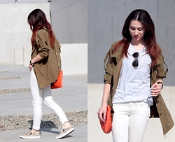 ANETTE ...ideaforfashion - Sheinside Jacket - MILITARY JACKET