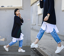 Alyssa Lau - Samuji Jade Jeans - Sweater Weather