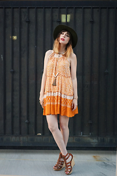 Amy Roiland - Gentlefawn Dress - Orange is the new the black