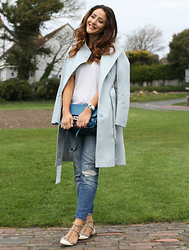 Tamara Kalinic - Valentino, River Island, Reiss, Hemès, Proenza Schouler, Zara - In mood for pastel colours