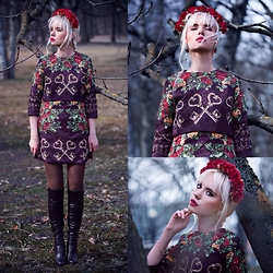 Oksana Orehhova - Oasap Dress - KEEPER OF MYSTIC FOREST
