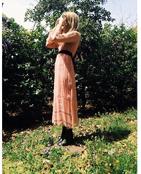 Kirby C - Vintage Dress, Isabel Marant Boots - April No. 5