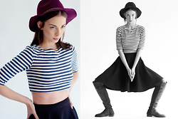 Gabriella Kovari -  - Stripes and hats