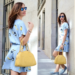 Silvia Rodriguez - Dolores Promesas Dress, Dolores Promesas Bag - Summer dress