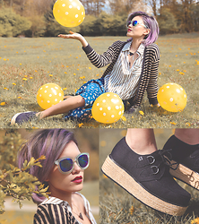 Alanna Durkovich - T.U.K. Creepers, Zerouv Sunglasses - Hail Long Weekends